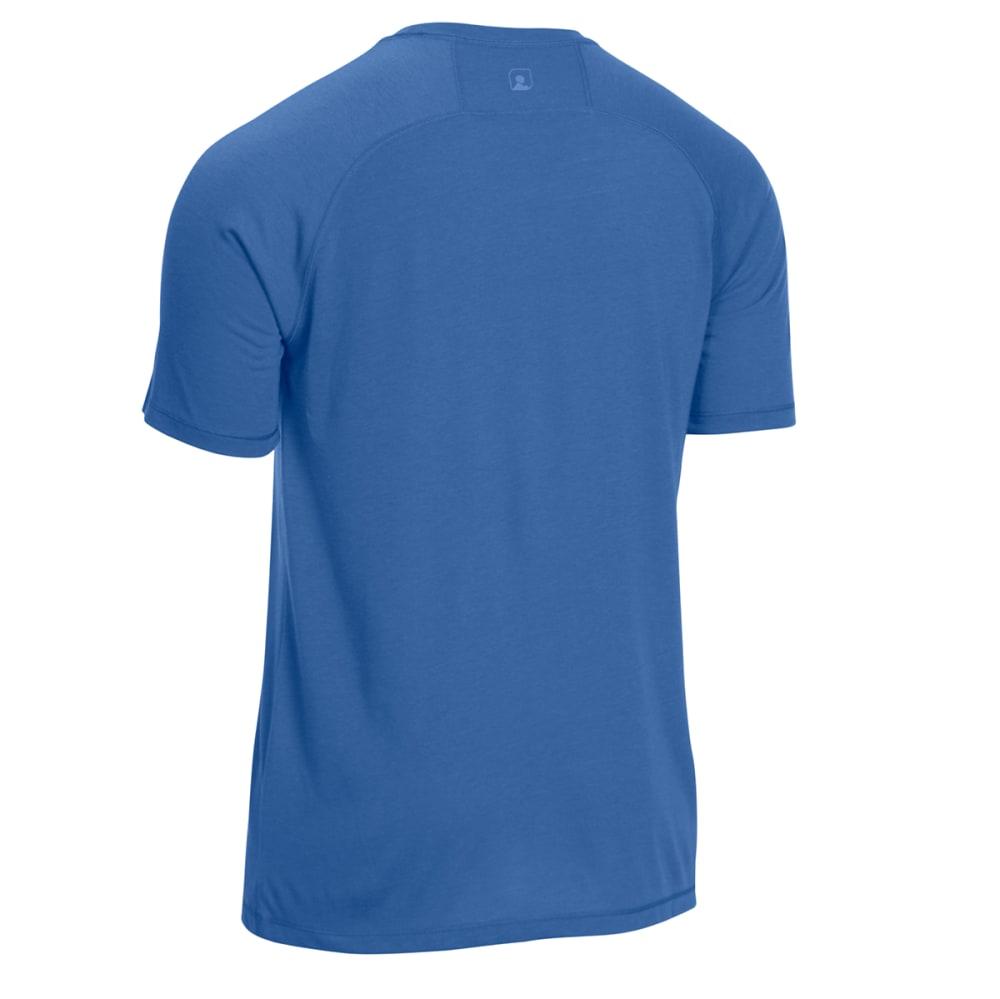 EMS Men's Techwick Vital Discovery Short-Sleeve Tee - ENSIGN BLUE