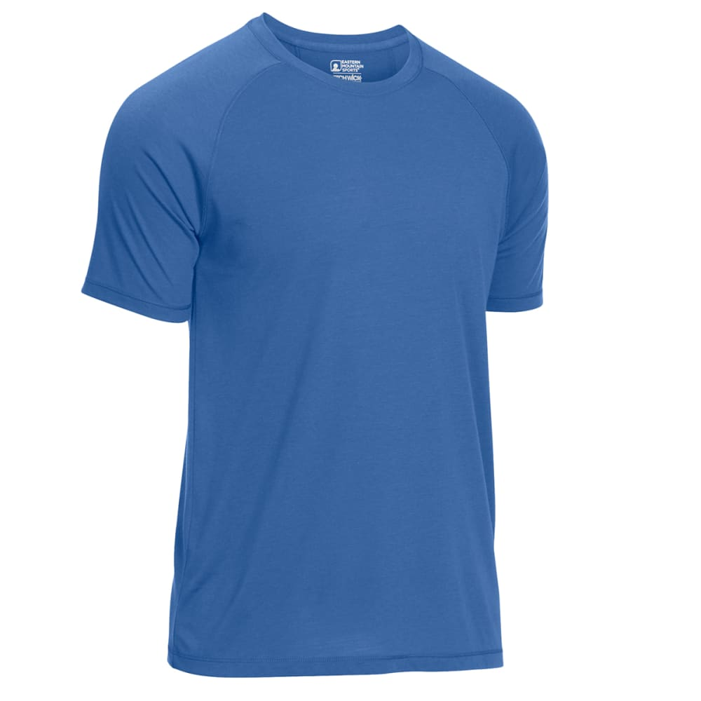 EMS Men's Techwick Vital Discovery Short-Sleeve Tee - ENSIGN BLUE