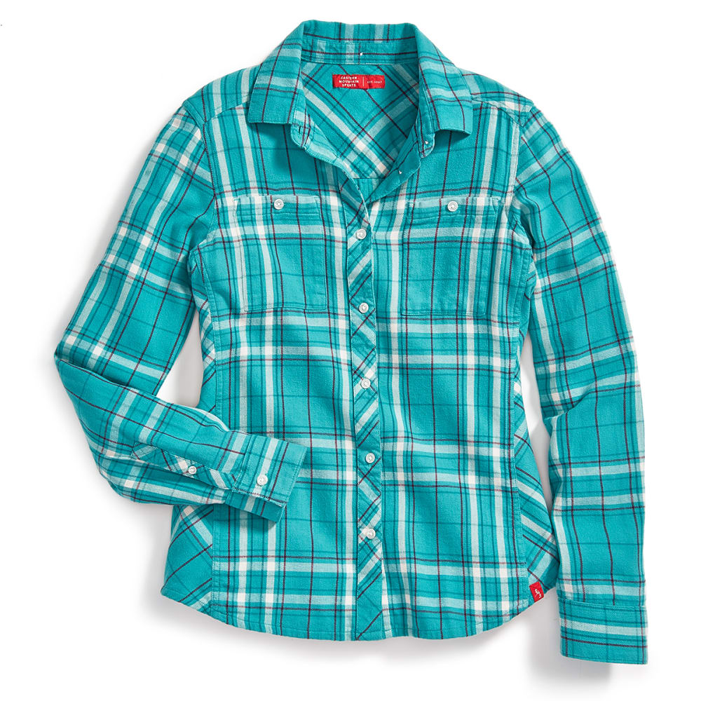 EMS Women's Cabin Flannel Long-Sleeve Shirt - LATIGO BAY