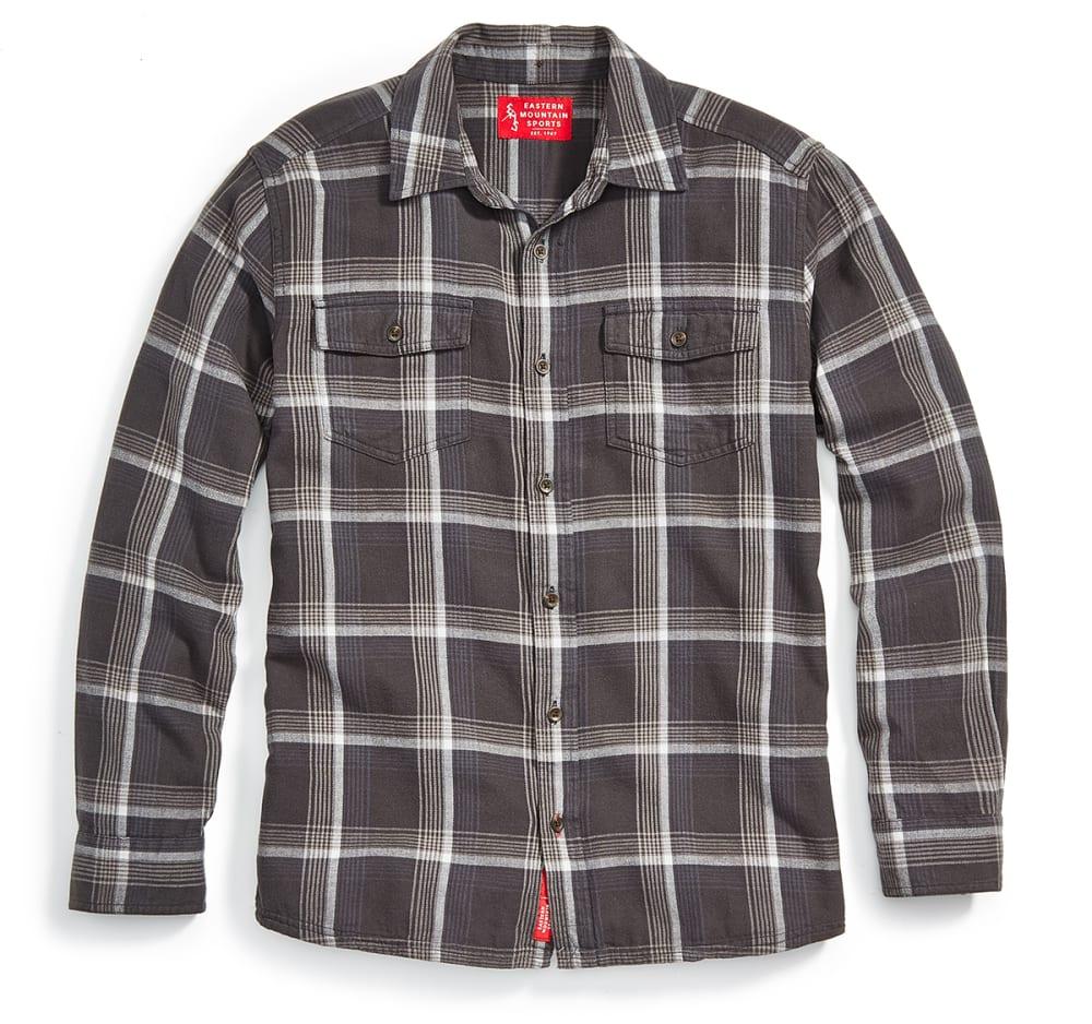 EMS Men's Cabin Flannel Long-Sleeve Shirt - PHANTOM