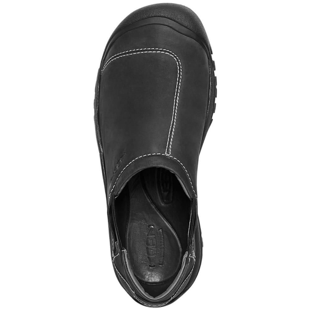 KEEN Men's Ashland Slip-On Casual Shoes, Black - BLACK
