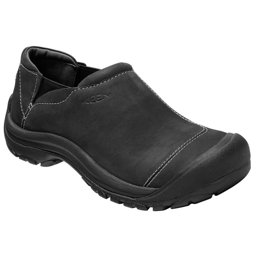 KEEN Men's Ashland Slip-On Casual Shoes, Black - Eastern ...