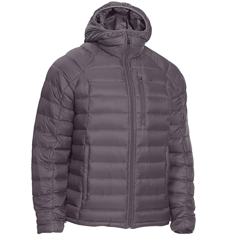 EMS Men's Feather Pack Hooded Jacket - FORGED IRON