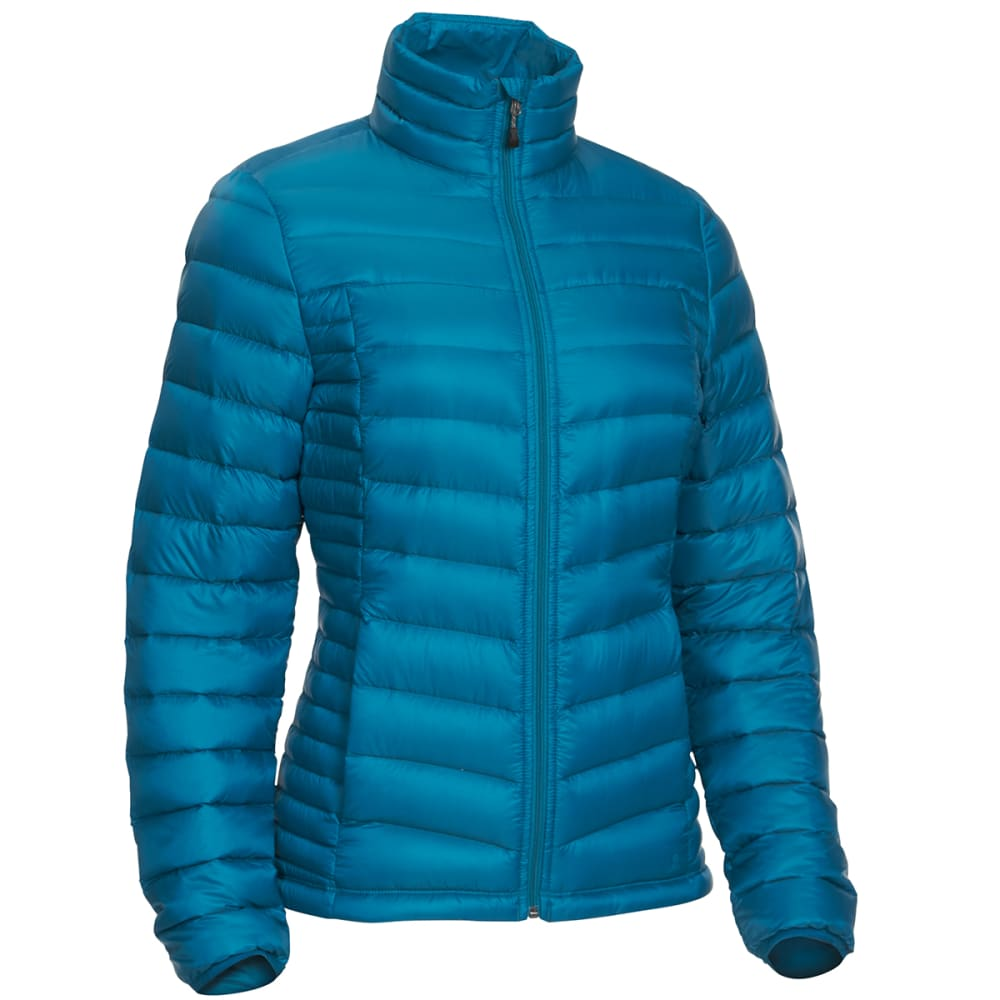 EMS Women's Feather Pack Jacket - DEEP LAGOON