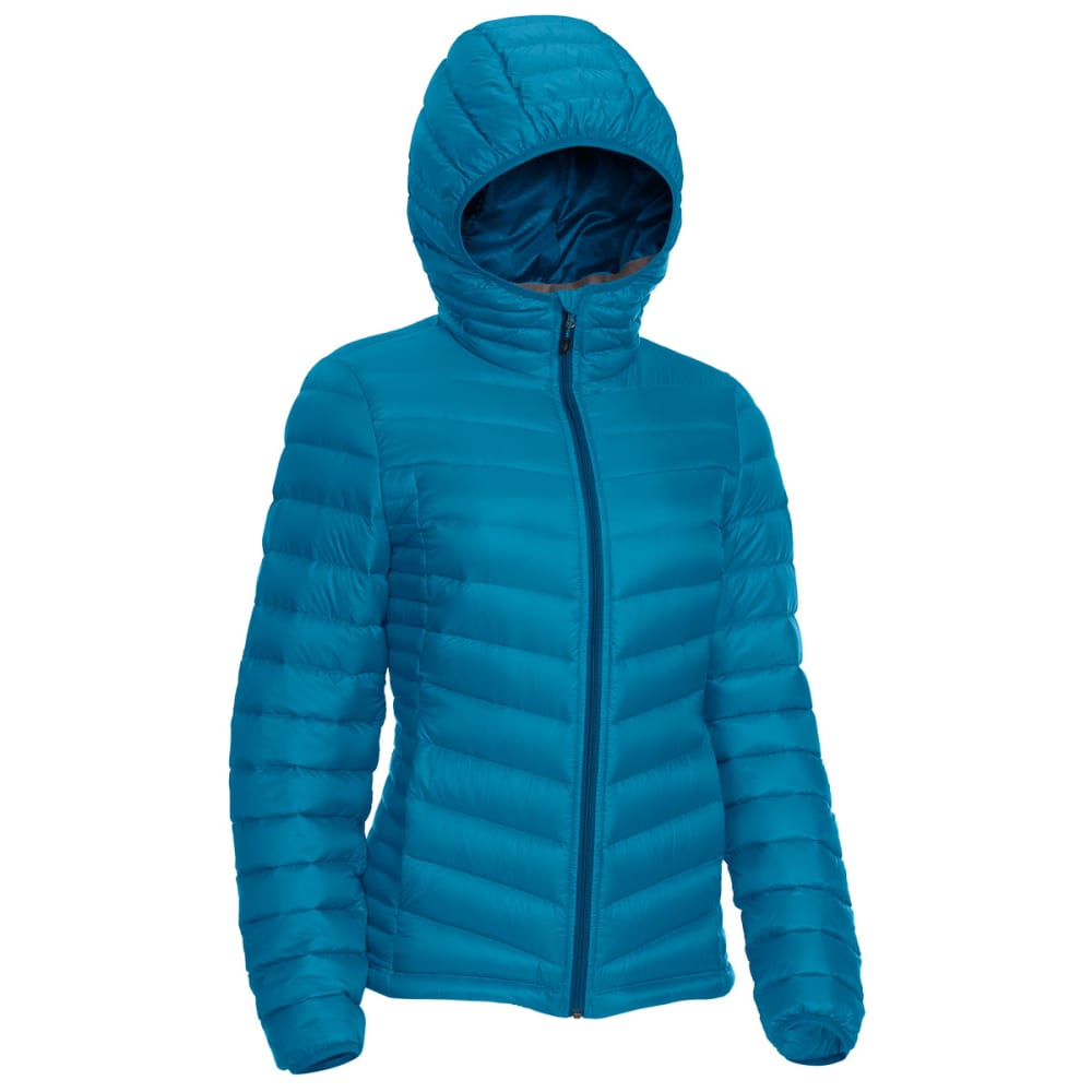 EMS® Women's Feather Pack Hooded Jacket - DEEP LAGOON