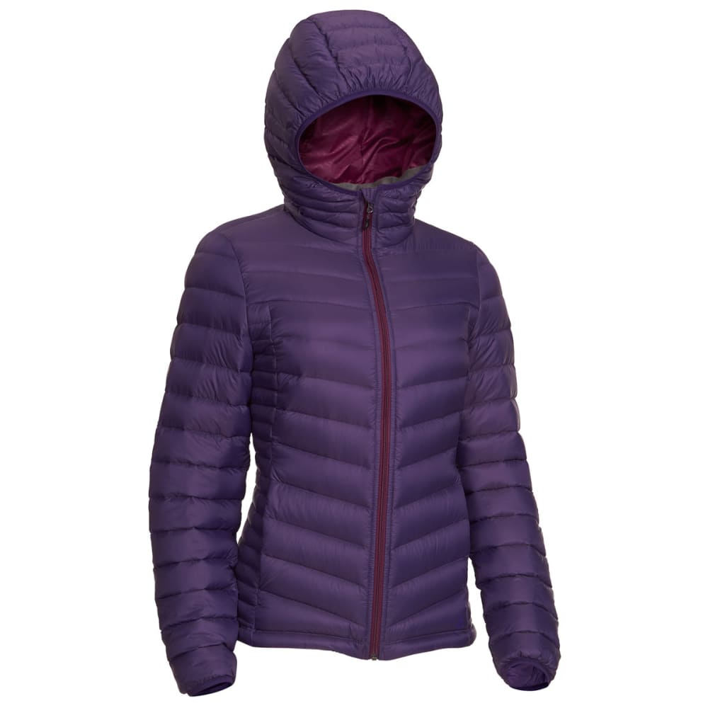 EMS® Women's Feather Pack Hooded Jacket - PARACHUTE PURPLE