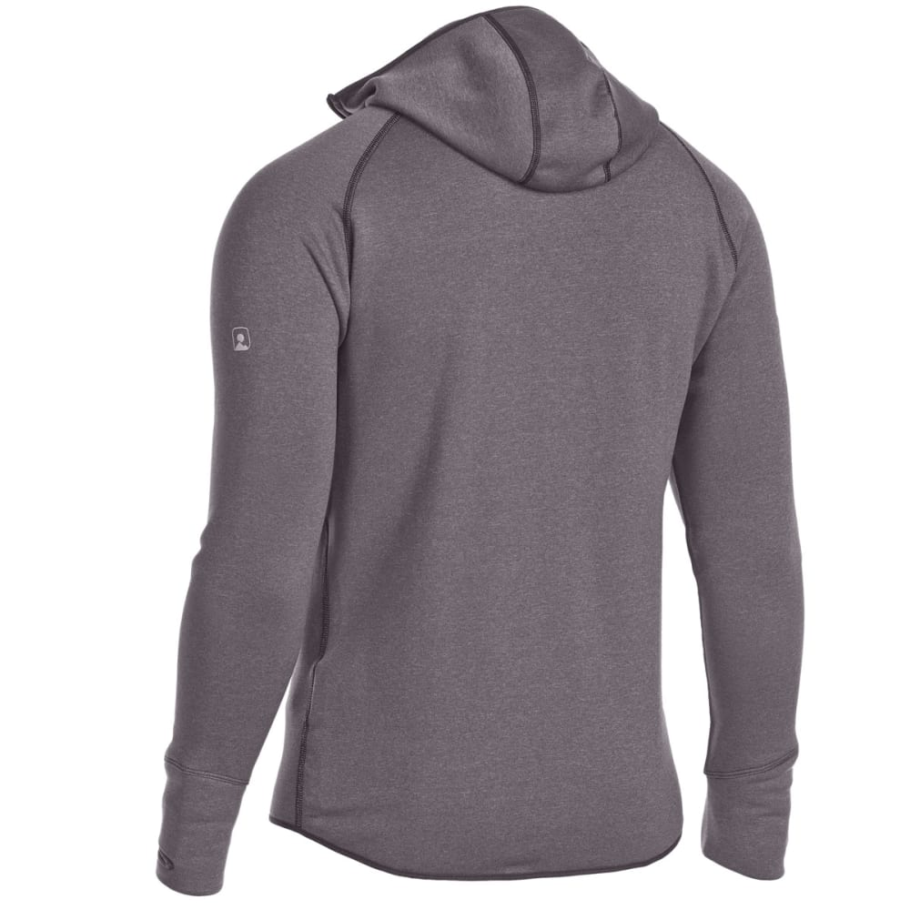 EMS Men's Equinox Power Stretch Hoodie - FORGED IRON HEATHER