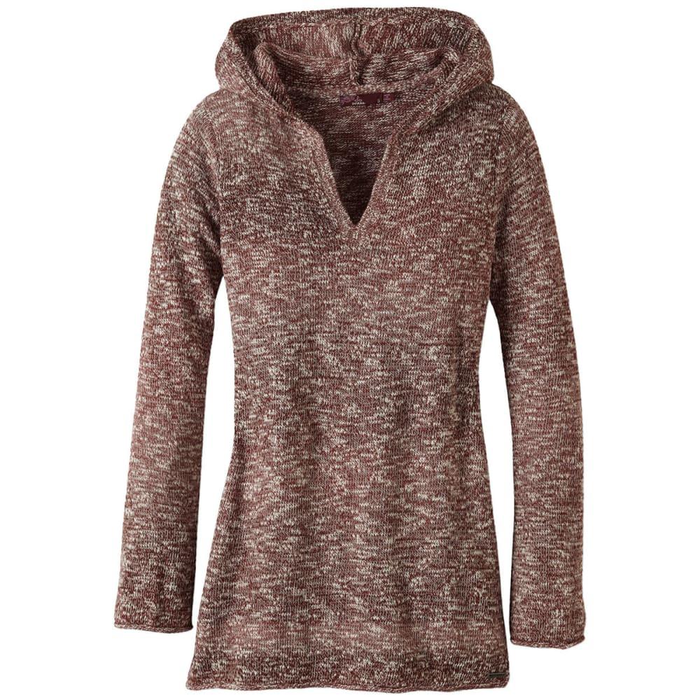PRANA Women's Gemma Sweater - DEEP MARSALA
