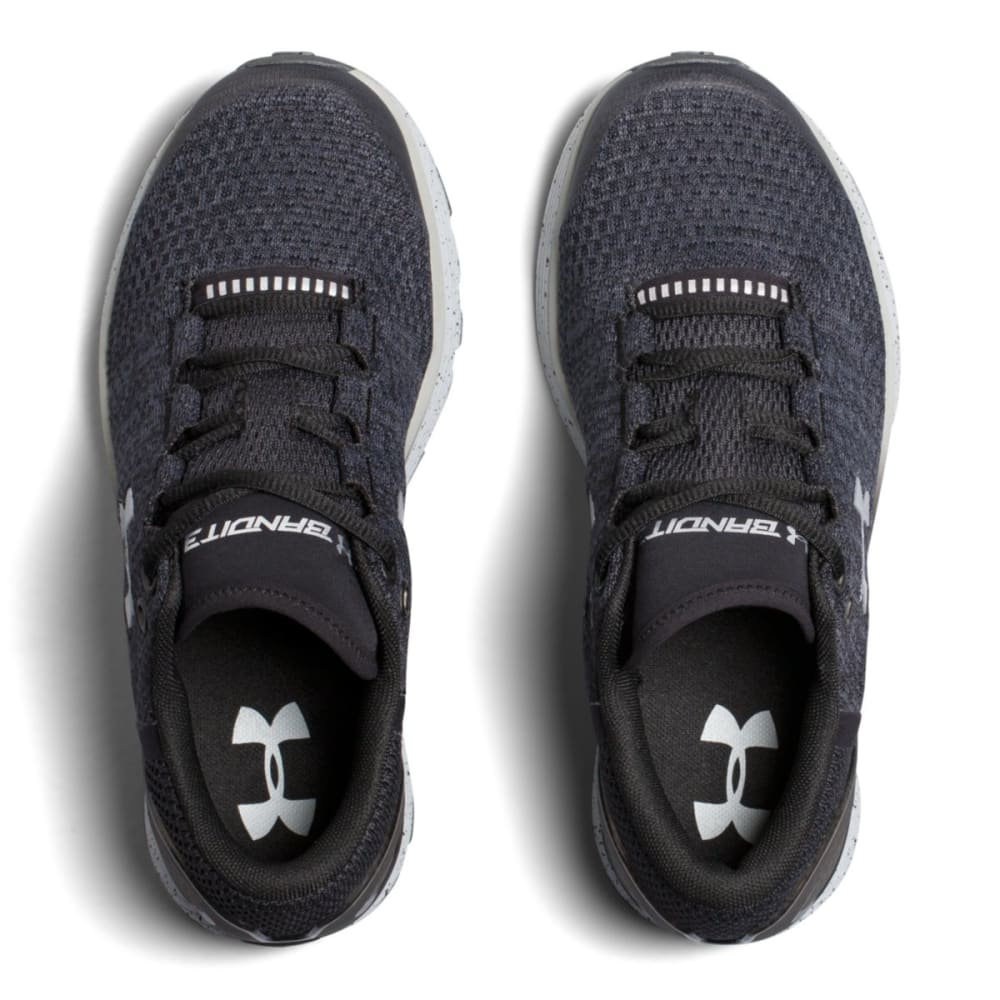 UNDER ARMOUR Big Boys' UA Charged Bandit 3 Running Shoes - BLACK