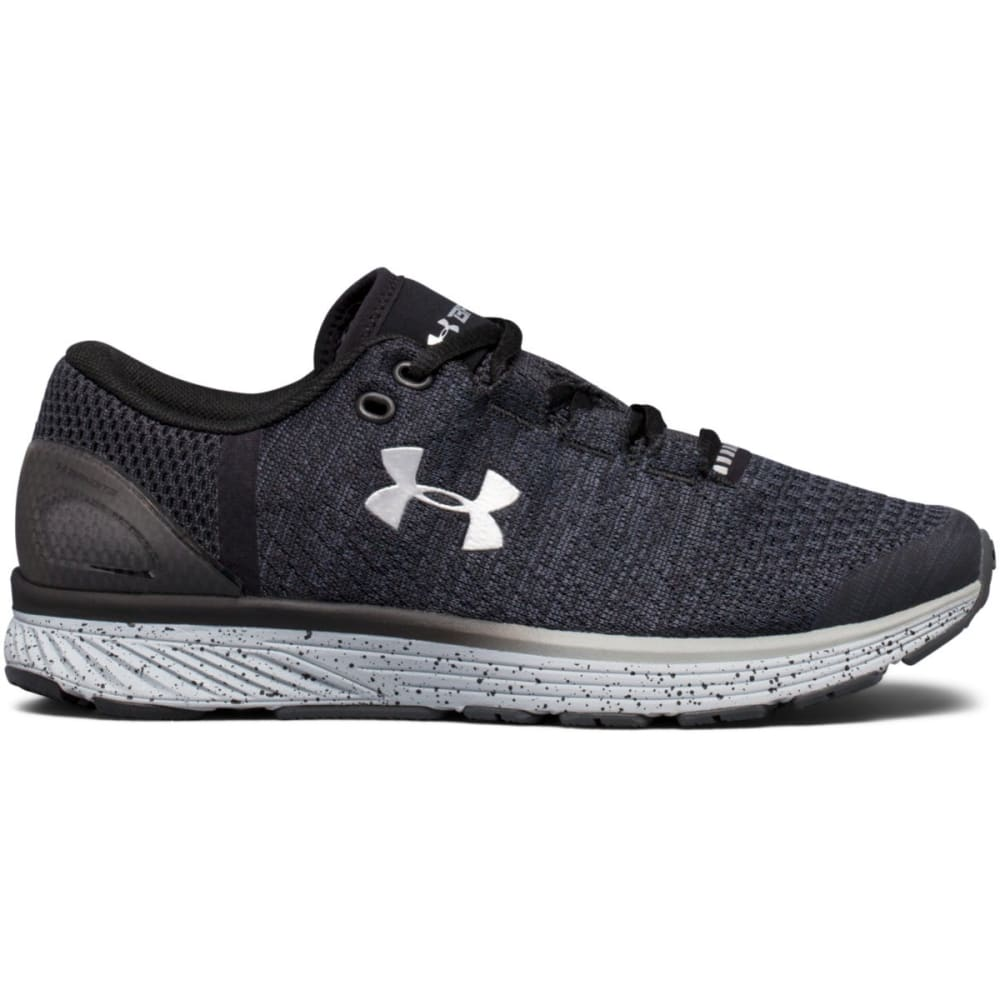 Under Armour Big Boys Ua Charged Bandit 3 Running Shoes - Black 1295957-001