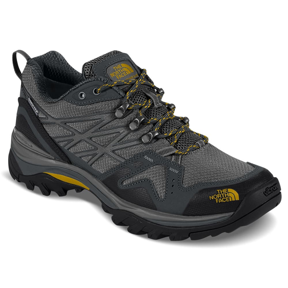 THE NORTH FACE Men's Hedgehog Fastpack Gore-Tex Waterproof Low Hiking Shoes, Zinc Grey 9