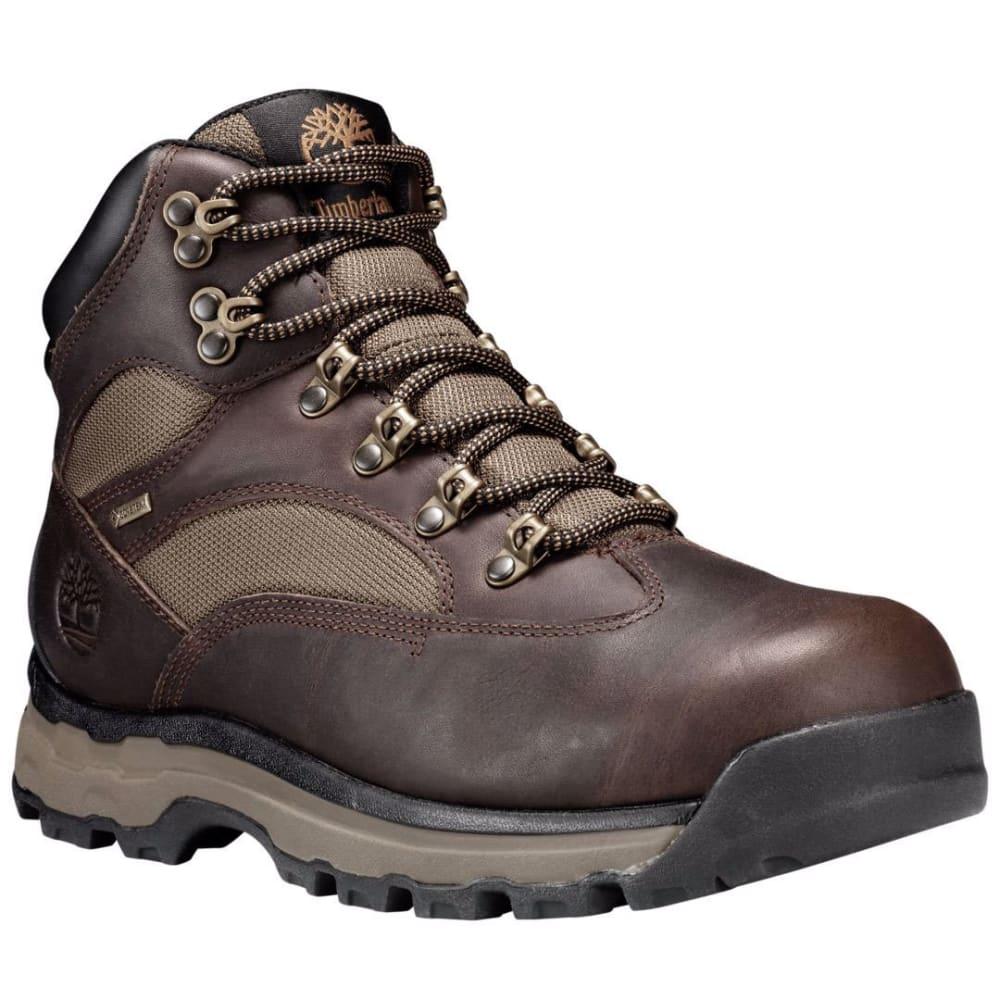 TIMBERLAND Men's Chocorua Trail 2.0 GTX Waterproof Hiking Boots, Dark Brown, Wide - DK BROWN