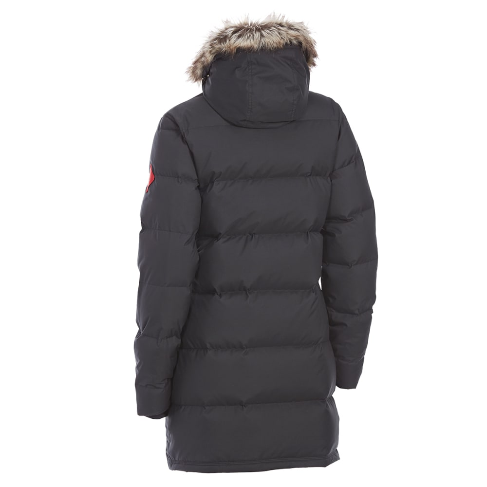 EMS® Women's Klatawa Long Down Jacket - BLACK