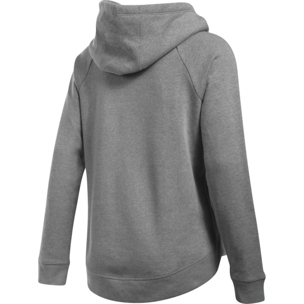 UNDER ARMOUR Women's UA Fashion Favorite Word Graphic Pullover Hoodie - GREY HEATHER-026