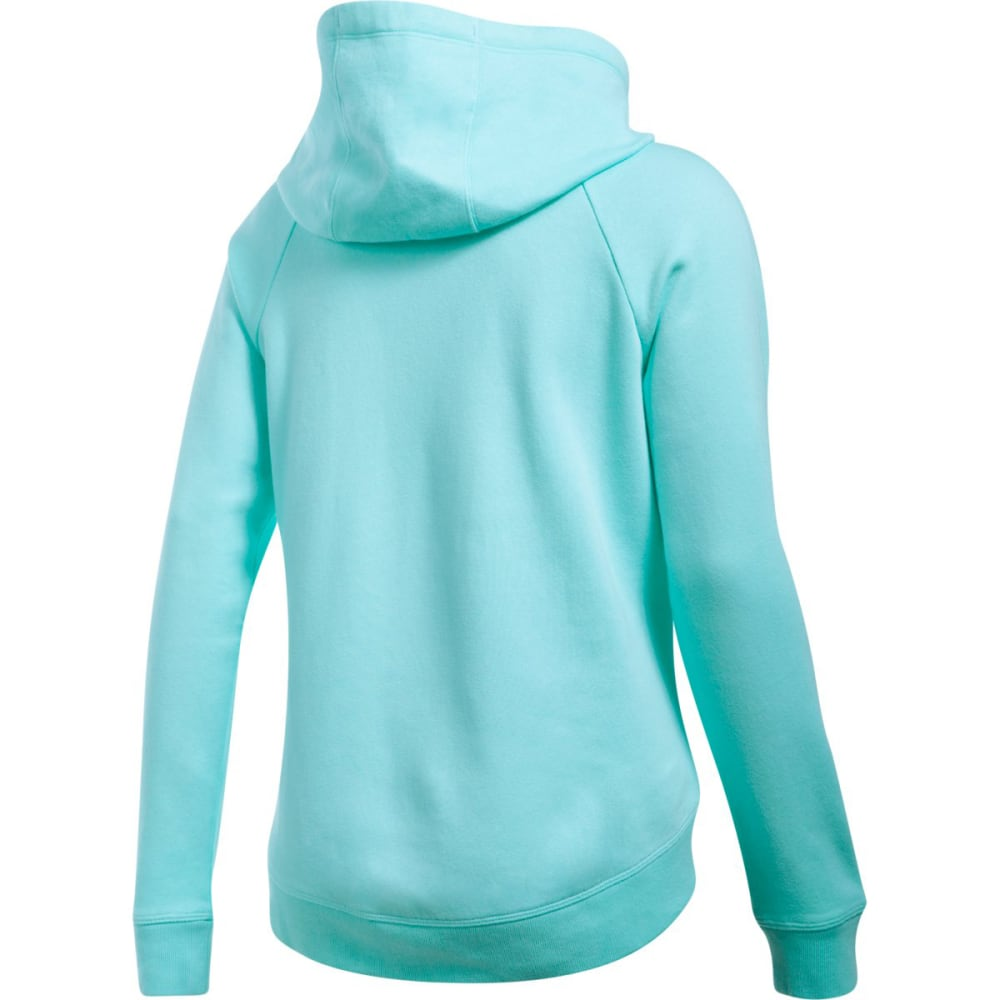 UNDER ARMOUR Women's UA Fashion Favorite Word Graphic Pullover Hoodie - BLUE INFINITY-942