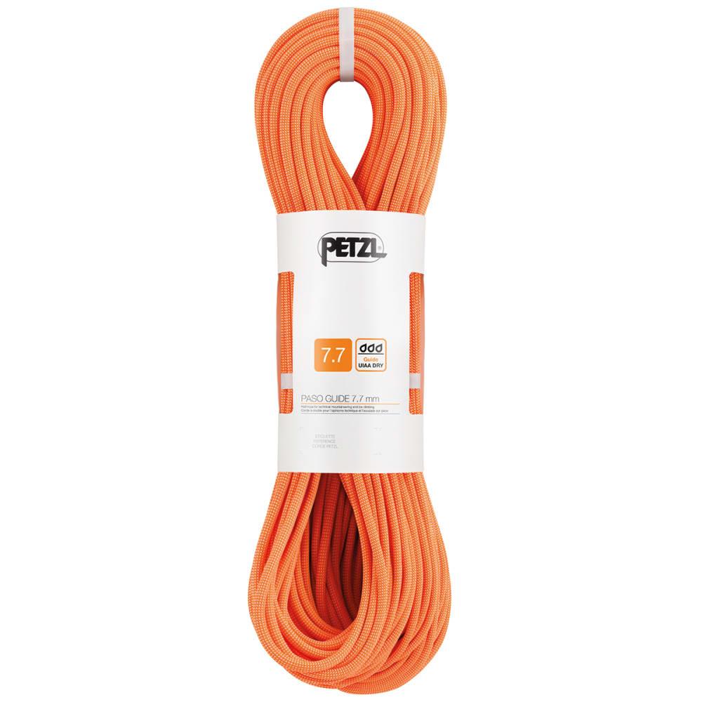 PETZL 7.7mm x 70m Paso Guide Climbing Rope - ORANGE