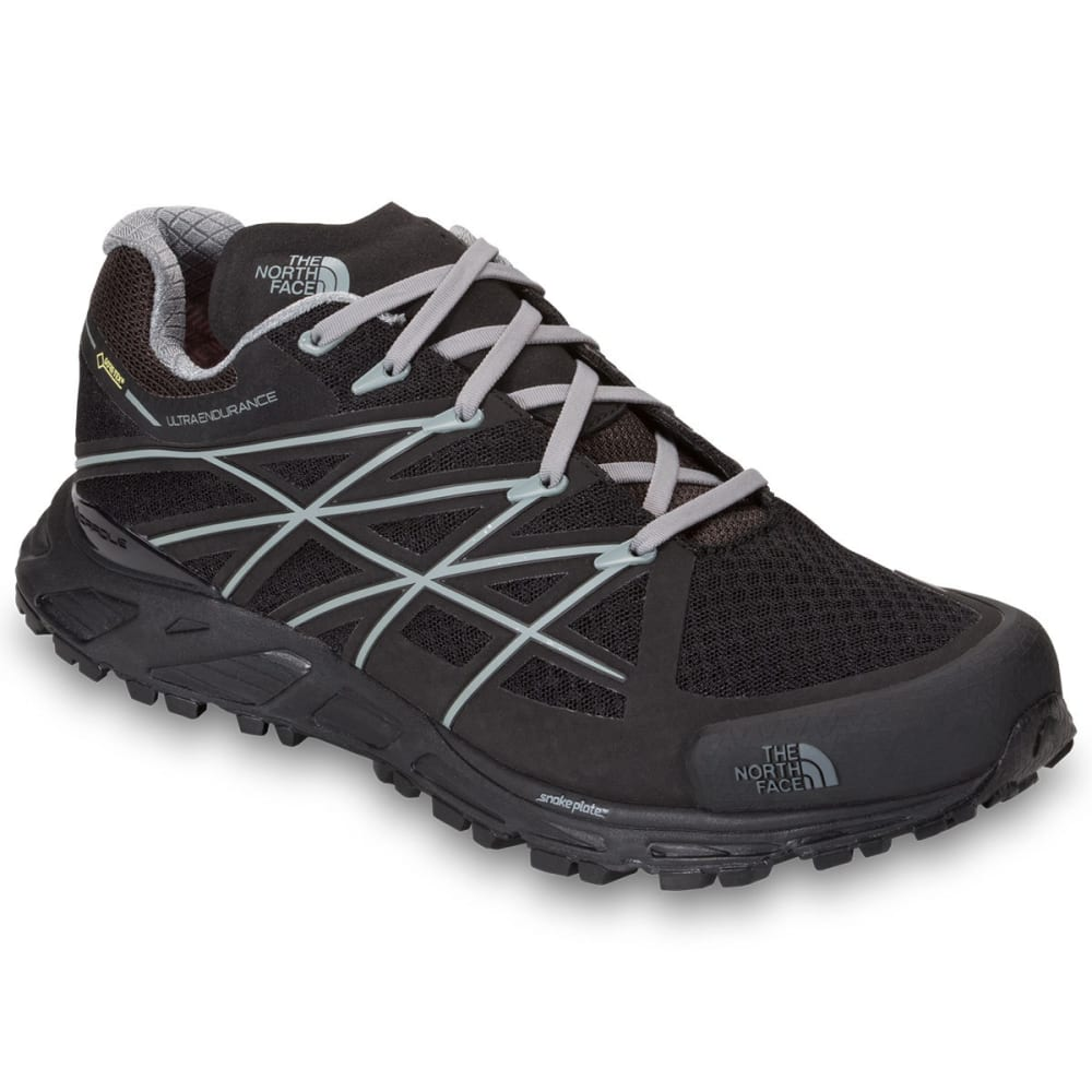 THE NORTH FACE Men's Ultra Endurance Gore-Tex Trail Running Shoes, Black/Grey - BLACK