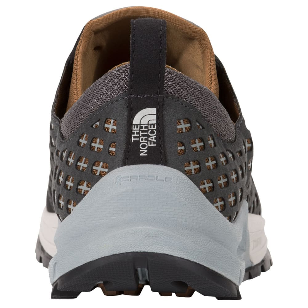 THE NORTH FACE Men's Mountain Sneaker Shoes, Graphite Grey/Brown - GRAPHITE GREY