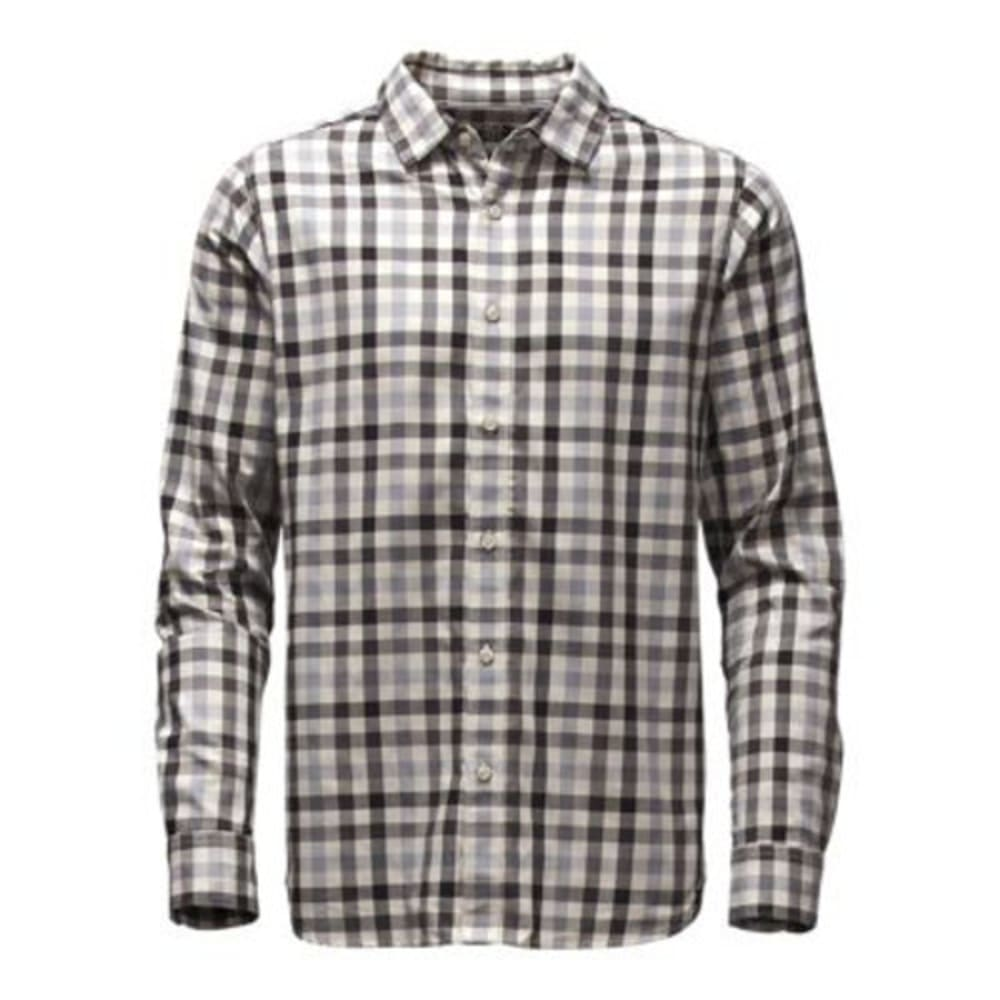 THE NORTH FACE Men's Long-Sleeve Hayden Pass Shirt - GJZ-MID GREY PLAID