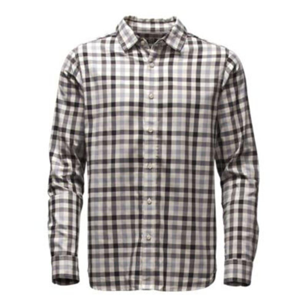 THE NORTH FACE Men's Long-Sleeve Hayden Pass Shirt - GJZ-MID GREY PLAID