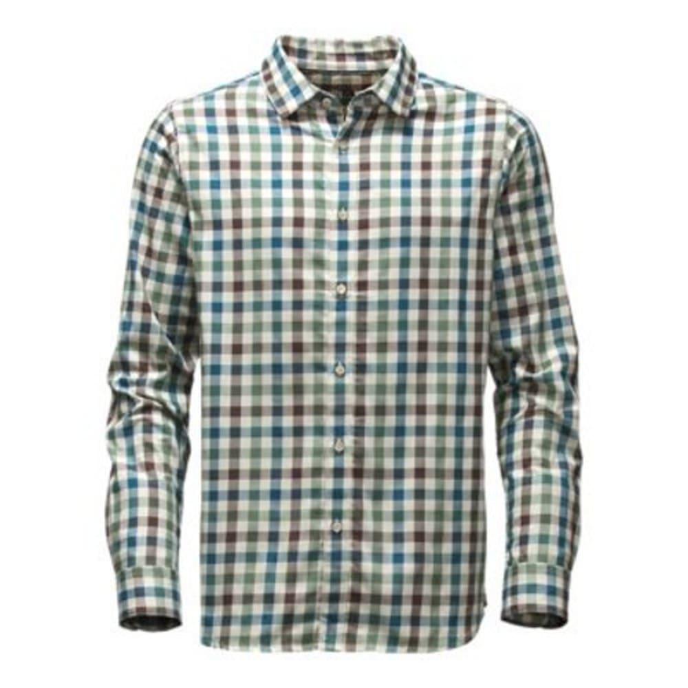 THE NORTH FACE Men's Long-Sleeve Hayden Pass Shirt - E6M-PRUSSIAN BLUE PL