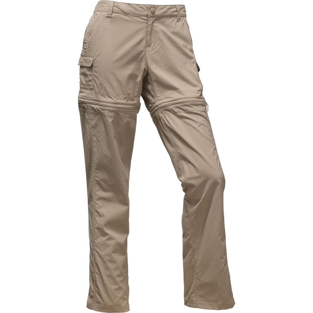 THE NORTH FACE Women's Paramount 2.0 Convertible Pants - 254-DUNE BEIGE