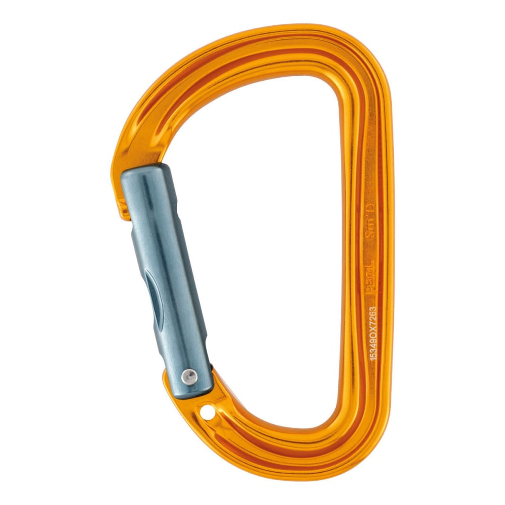 PETZL Sm'D Wall Carabiner - ORANGE
