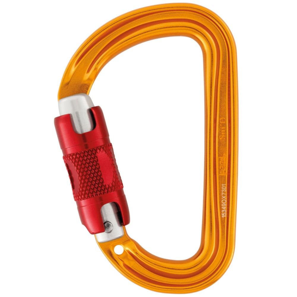 PETZL Sm'D Ultra-light Asymmetrical Twist Lock Carabiner - ORANGE