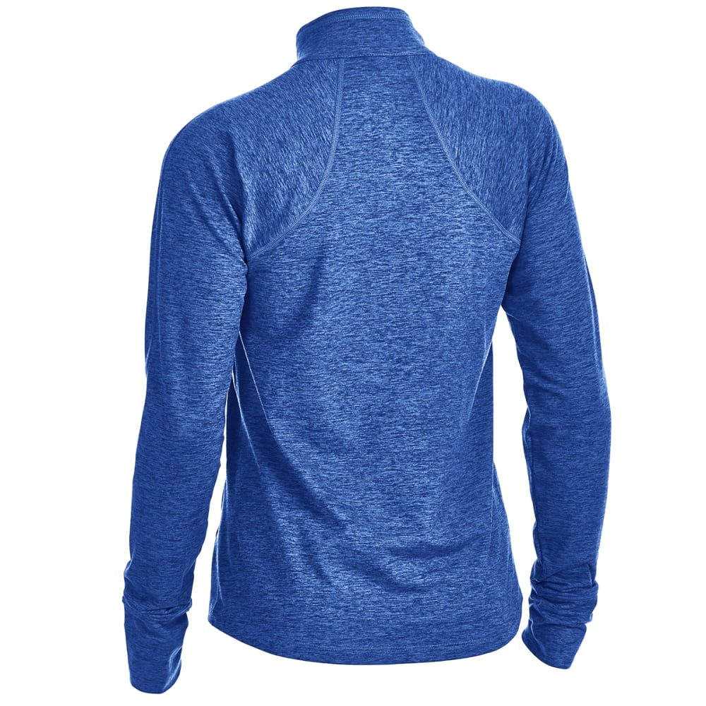 EMS® Women's Techwick® Transition 1/4-Zip Pullover - MAZARINE BLUE HTR