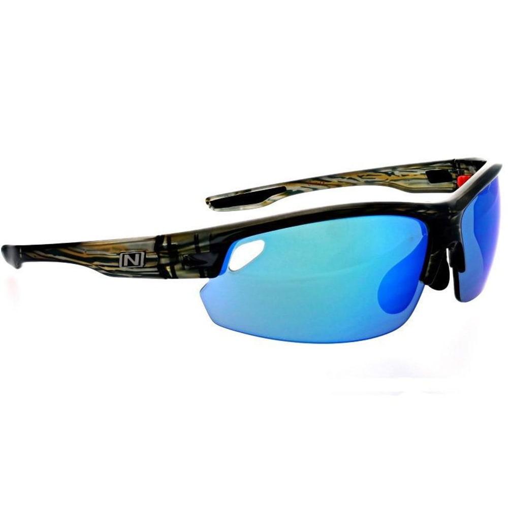 OPTIC NERVE Desoto Sunglasses - SHINY DRFTWOOD OCEAN