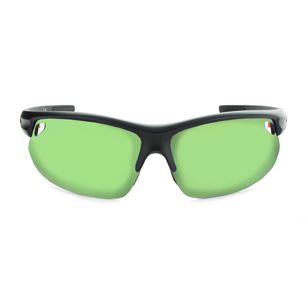 OPTIC NERVE Desoto Plus Flip Off Sunglasses, Matte Black - MATTE BLACK