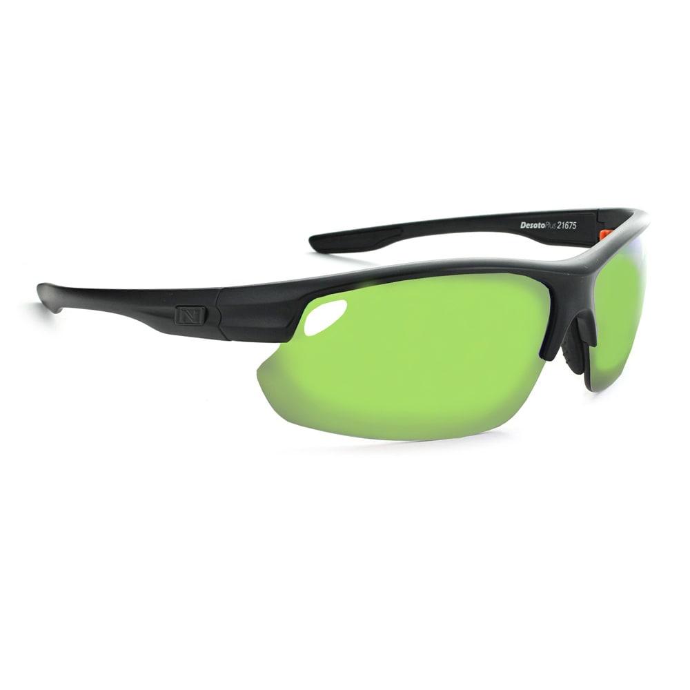 Optic Nerve Desoto Plus Flip Off Sunglasses, Matte Black - Black 21675