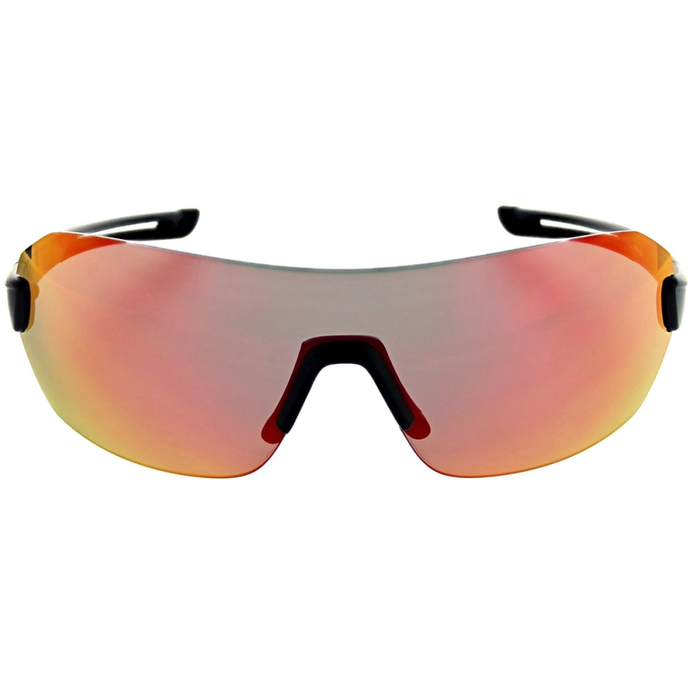 OPTIC NERVE Overcast Flip Off Sunglasses, Matte Black - MATTE BLACK
