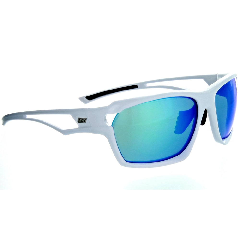 OPTIC NERVE Variant Sunglasses, Shiny White - SHINY WHITE