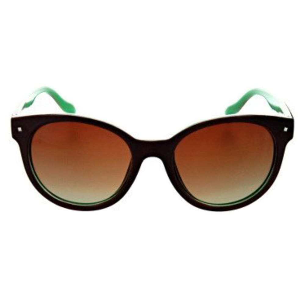 MOUNTAIN SHADES Women's Hotplate Polarized Sunglasses - SHNY CHCLATE/MINT GR
