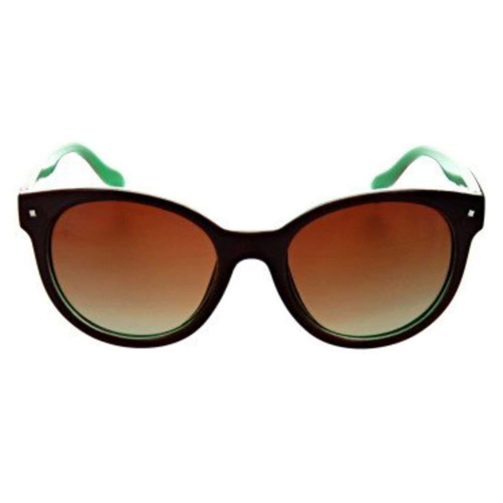 MOUNTAIN SHADES Women's Hotplate Polarized Sunglasses - SHNY CHCLATE/MINT GR