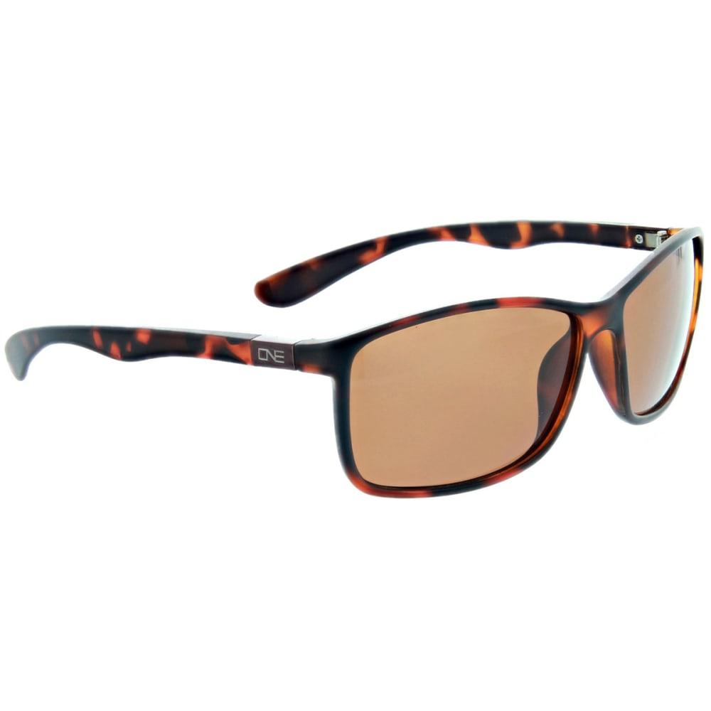 MOUNTAIN SHADES Riverwalk Matte Dark Demi Sunglasses - MATTE DARK DEMI