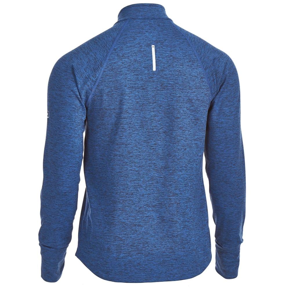 EMS® Men's Techwick® Transition 1/4-Zip Pullover - ESTATE BLUE HEATHER