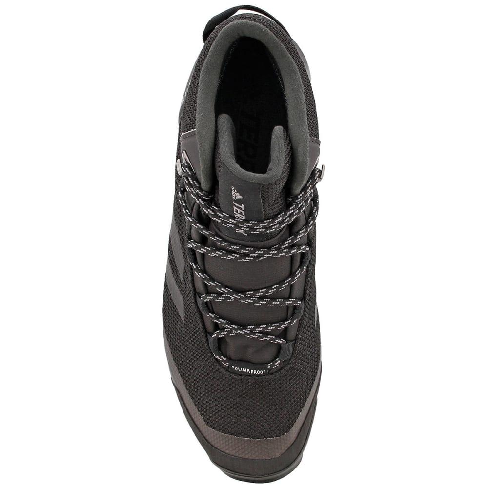 ADIDAS Men's Terrex Tivid Mid CP Hiking Boots, Black/Grey - GREY/BLACK