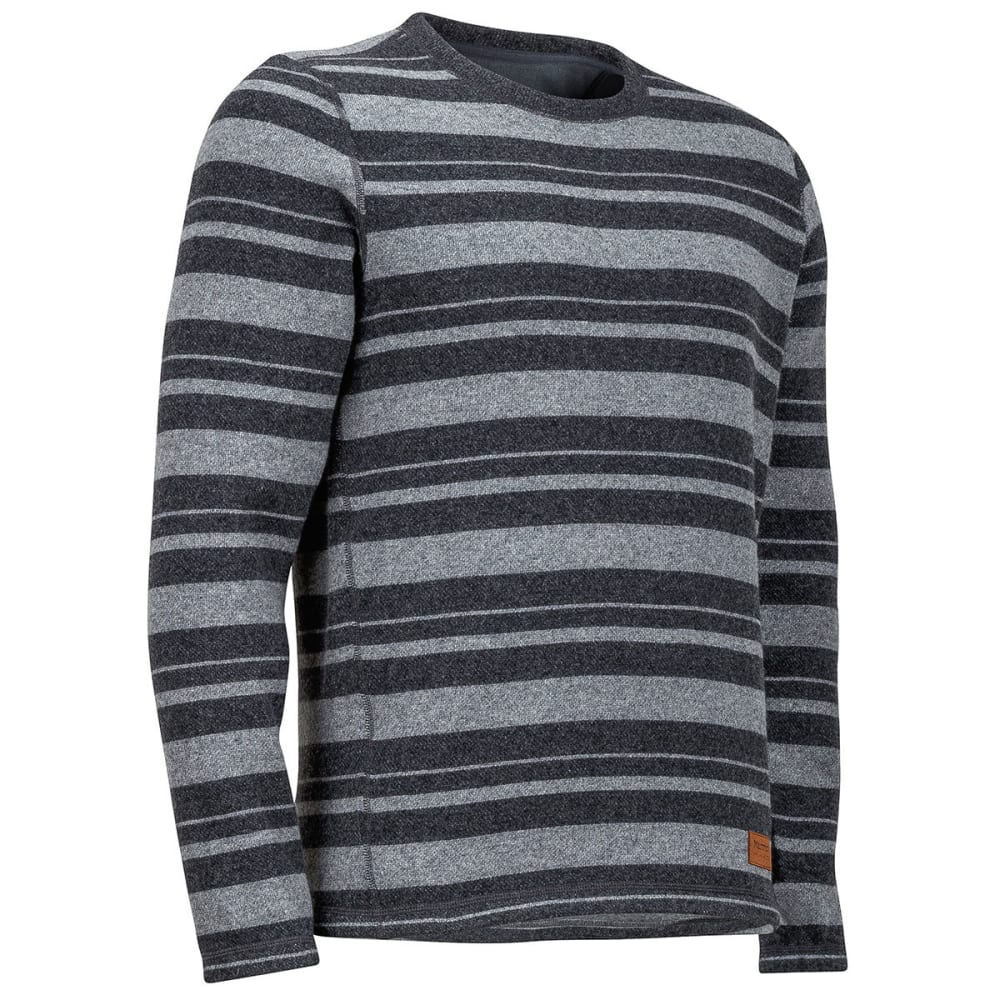MARMOT Men's Stafford Crew Long-Sleeve Sweater - 8552-SLATE GREY HTHR