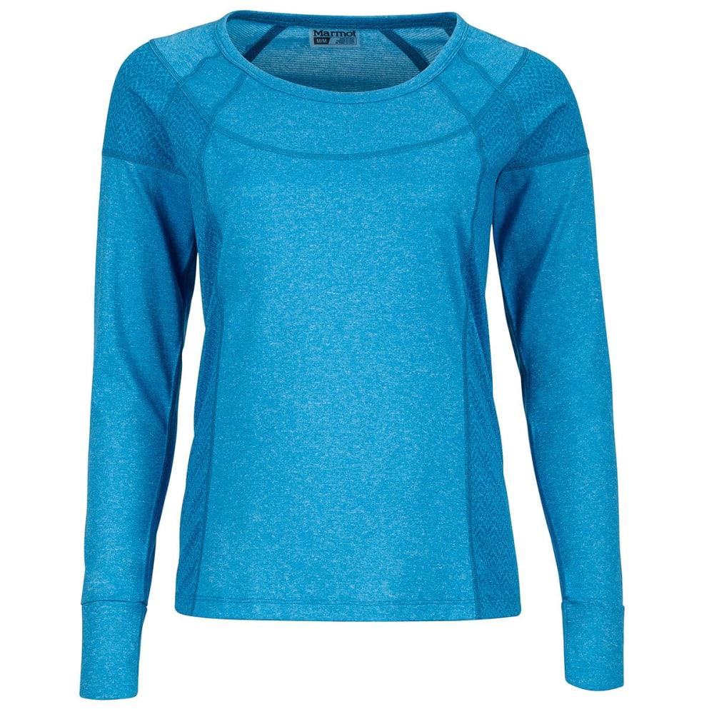 MARMOT Women's Eliza Long-Sleeve Shirt - 2801-TURKISH TILE