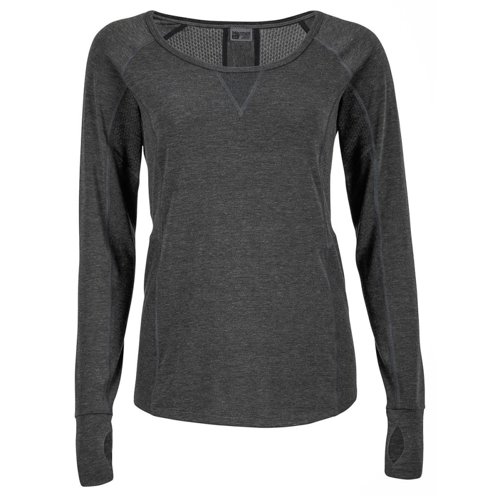 MARMOT Women's Helen Long-Sleeve Shirt - 001-BLACK