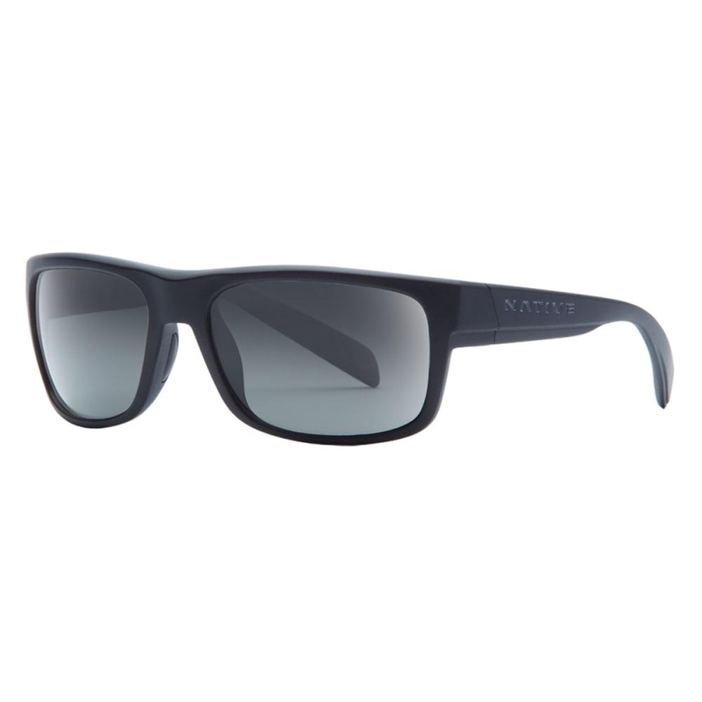 NATIVE EYEWEAR Ashdown Polarized Sunglasses - MATTE BLACK