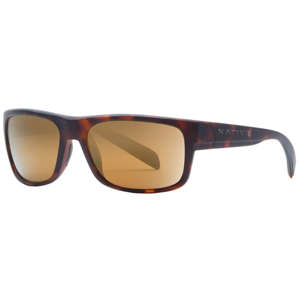NATIVE EYEWEAR Ashdown Sunglasses, Matte Tortoise/Bronze Reflex NO SIZE