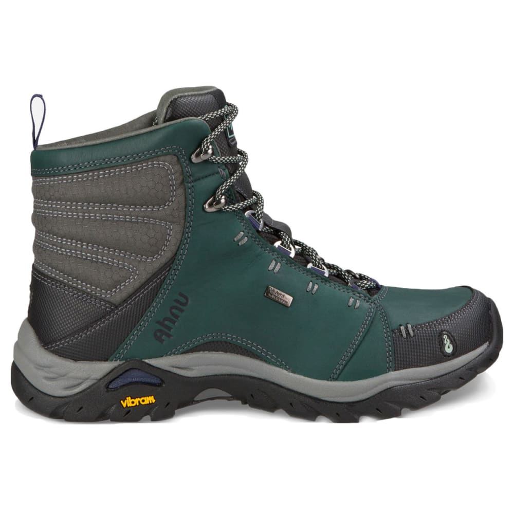 AHNU Women's Montara Waterproof Mid Hiking Boots, Muir Green - MUIR GREEN