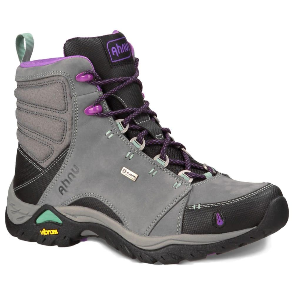 AHNU Women's Montara Waterproof Mid Hiking Boots, Dark Grey - DARK GREY