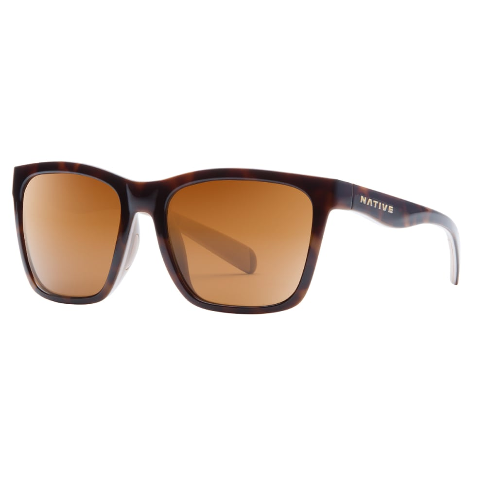 NATIVE EYEWEAR Braiden Sunglasses, Maple Tortoise, Brown lens - MAPLE TORT/PINK/CRYS