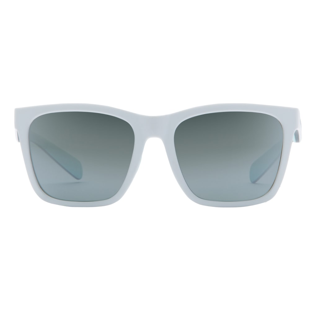 NATIVE EYEWEAR Braiden Sunglasses, Matte White with Silver Lens - WHITE/GREY/MINT