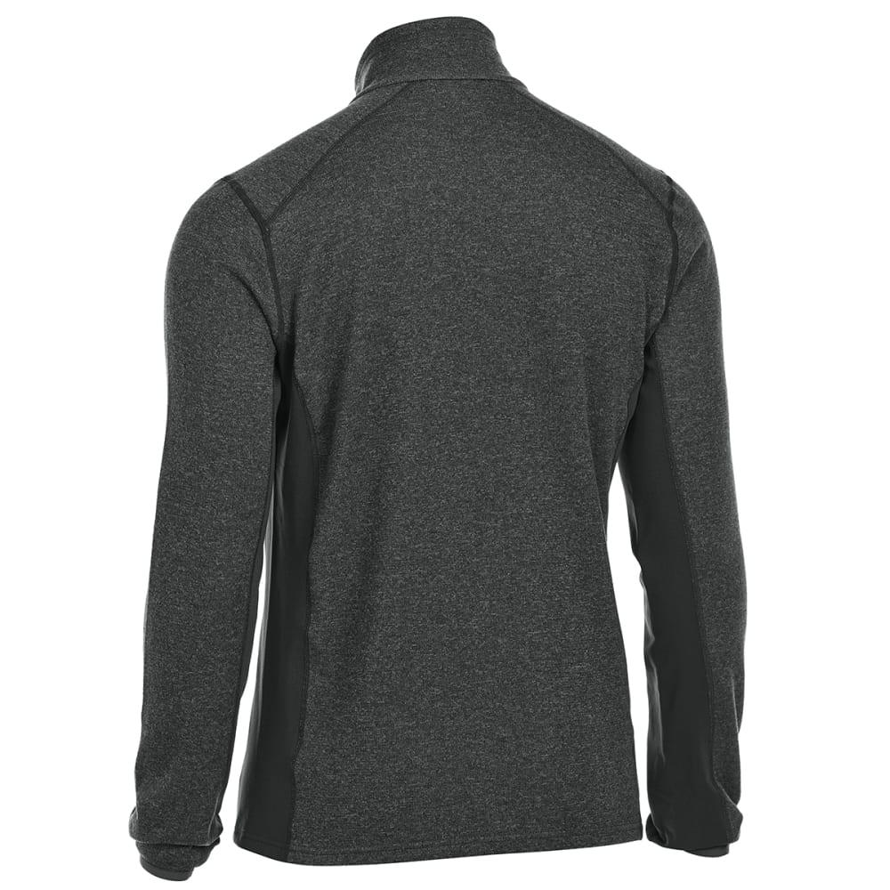 EMS Men's Destination Hybrid Full-Zip Sweater Jacket - BLACK