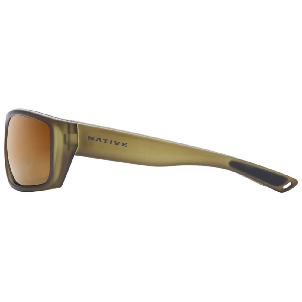 NATIVE EYEWEAR Distiller Sunglasses, Matte Moss/Bronze Reflex - MATTE MOSS